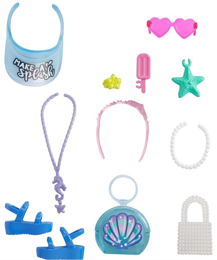 Barbie Acessórios - Conjunto Oceano