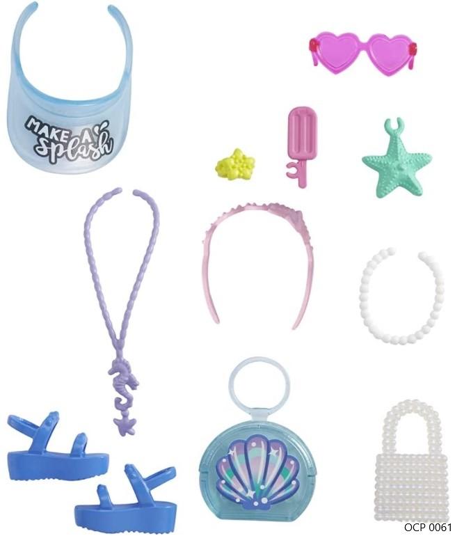 Barbie Acessórios Conjunto Oceano - Mattel