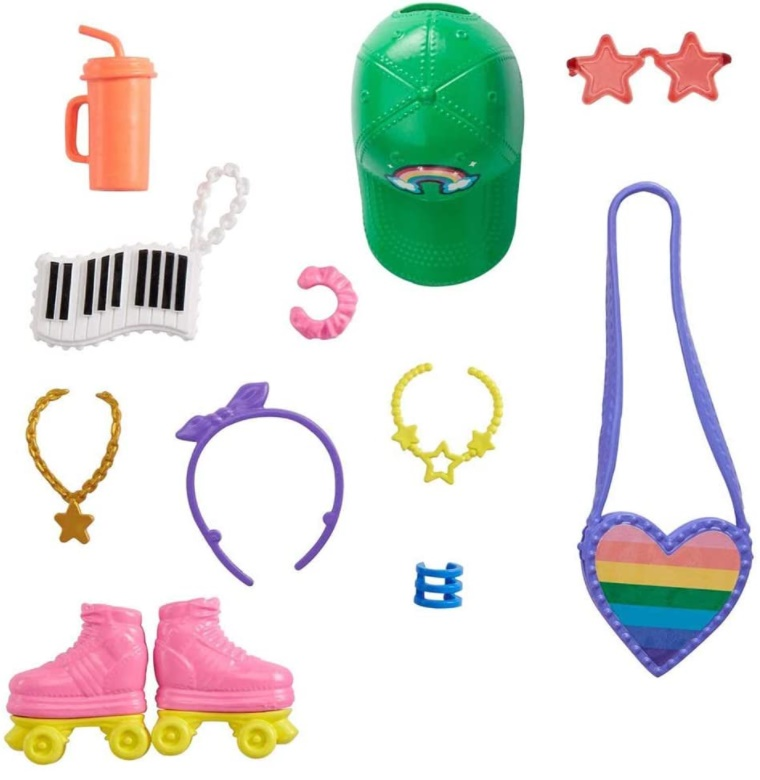Barbie Acessórios - Conjunto Patins
