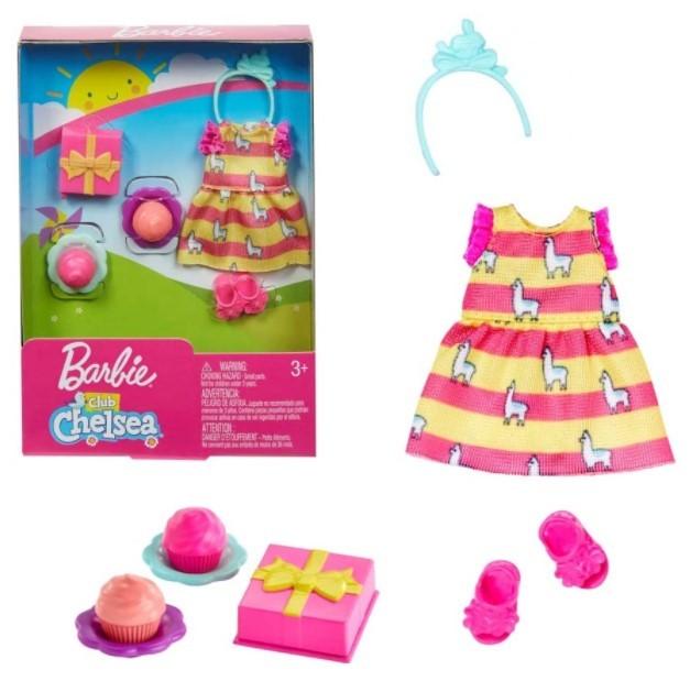 Barbie Club Chelsea - Conjunto Festa para a Boneca Chelsea