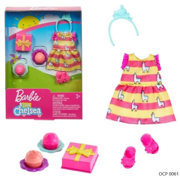 Barbie Club Chelsea Conjunto Festa para a Boneca Chelsea - Mattel