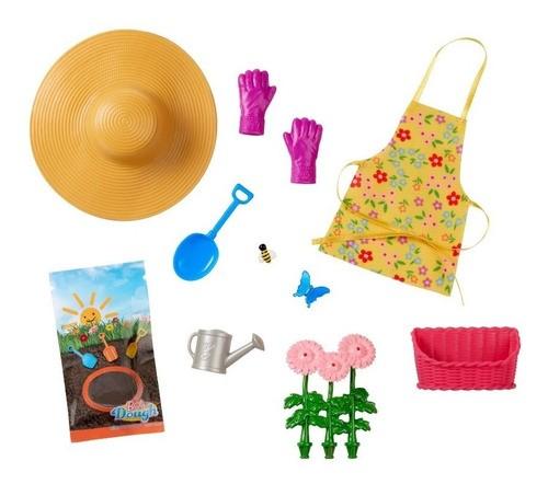 Barbie Doce Pomar na Fazenda Moda e 10 acessórios jardinagem