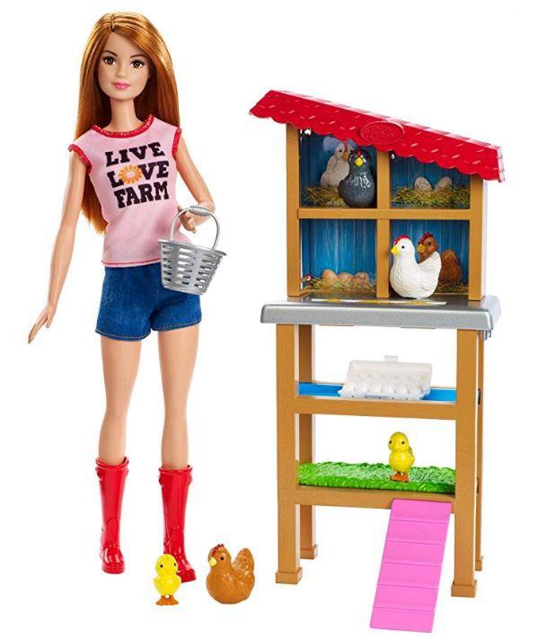 Boneca Barbie Profissões - Granjeira e Playset