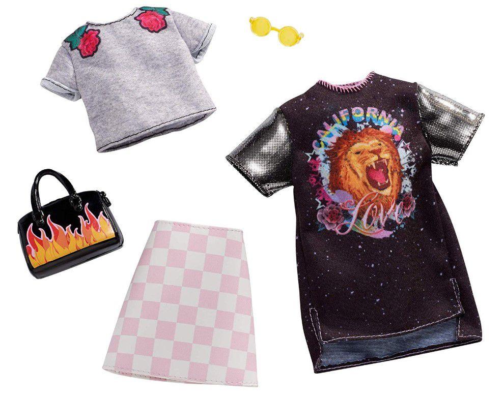 Barbie Roupas e Acessórios - Conjunto Banda de Rock