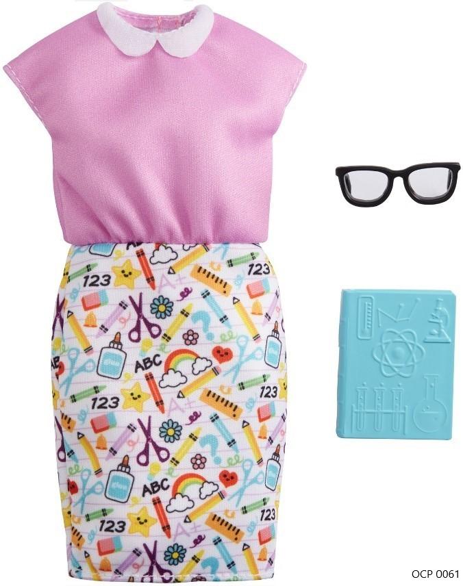 Barbie Roupas e Acessórios Conjunto Profissões Professora - Mattel