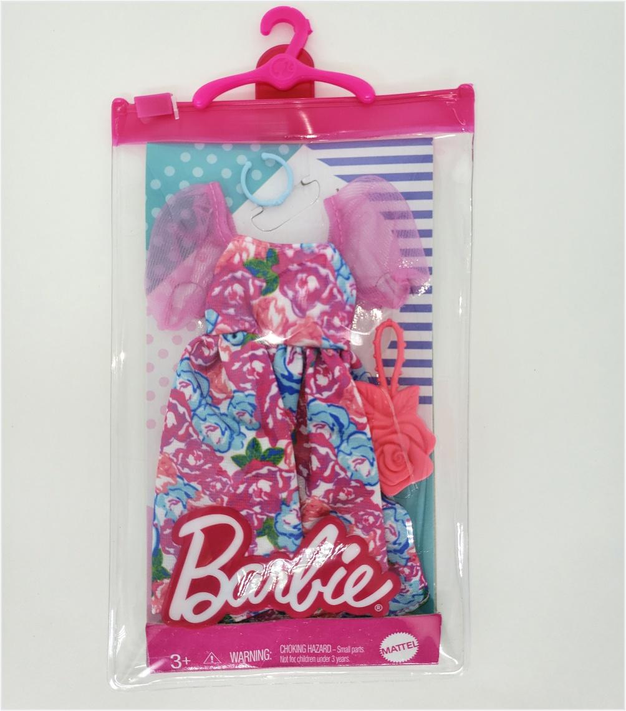 Barbie Roupas e Acessórios - Vestido Floral