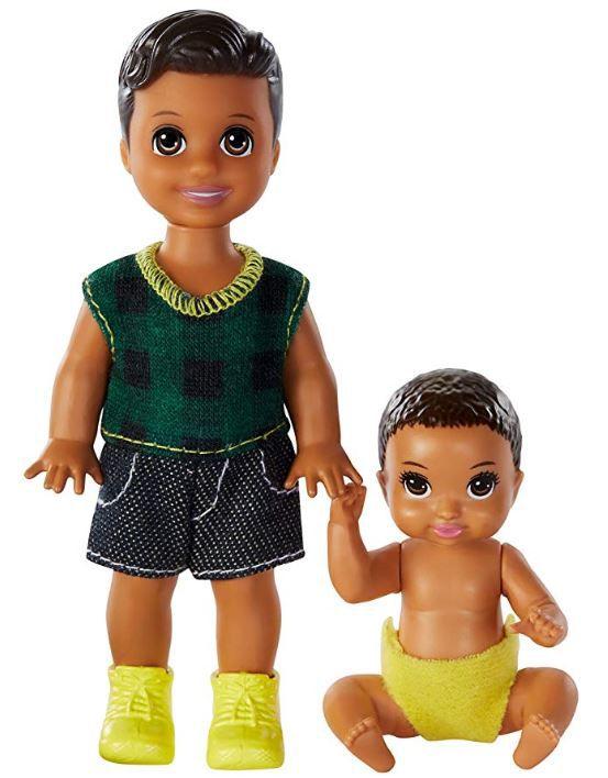 Barbie Skipper Babysitters - Conjunto Irmãos Meninos