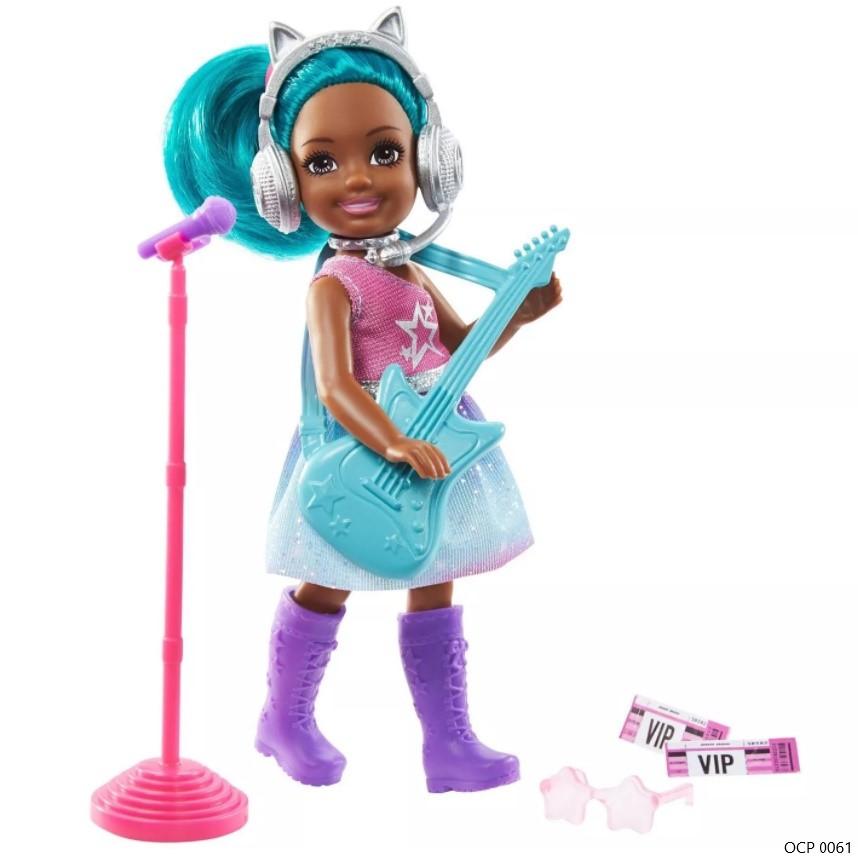 Boneca Barbie  Chelsea Can Be Pop Star - Mattel