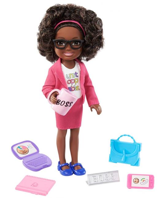 Boneca Barbie Chelsea pode ser Empresária