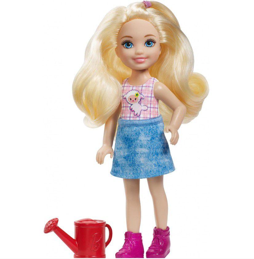 Boneca Barbie Club Chelsea - Doce Pomar da Fazenda com regador