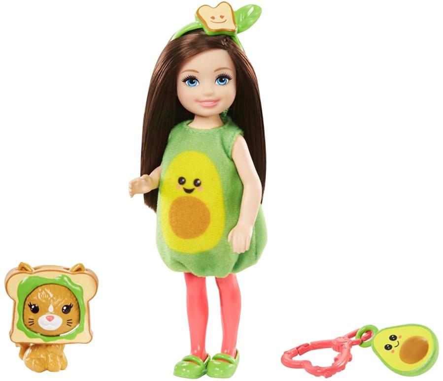 Boneca Barbie Club Chelsea Festa a Fantasia Abacate