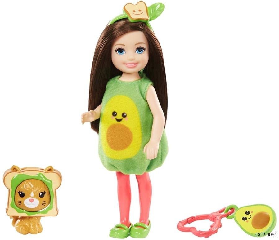 Boneca Barbie Club Chelsea Festa a Fantasia Abacate - Mattel