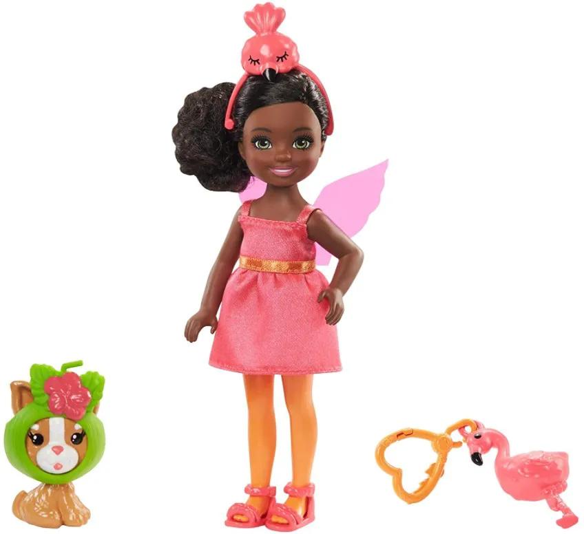 Boneca Barbie Club Chelsea Festa a Fantasia Flamingo