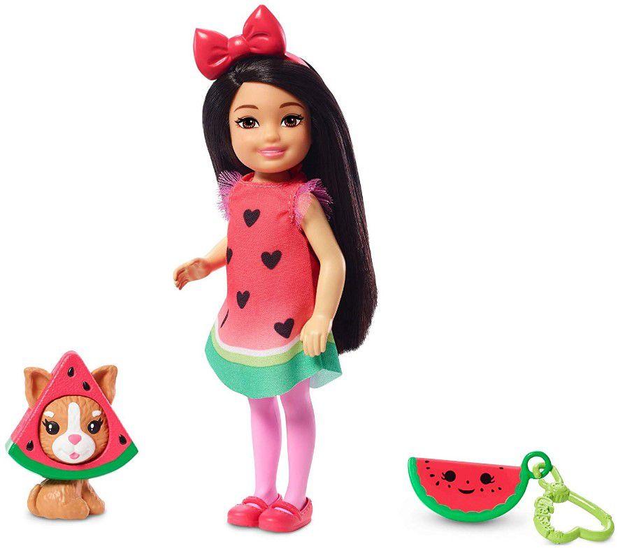 Boneca Barbie Club Chelsea - Festa a Fantasia Melancia