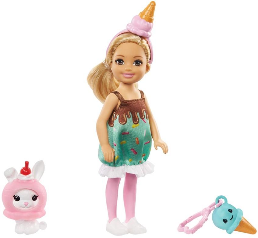 Boneca Barbie Club Chelsea Festa a Fantasia Sorvete