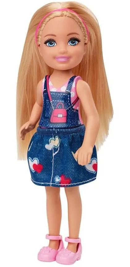 Boneca Barbie Club Chelsea Loira Saia Jeans