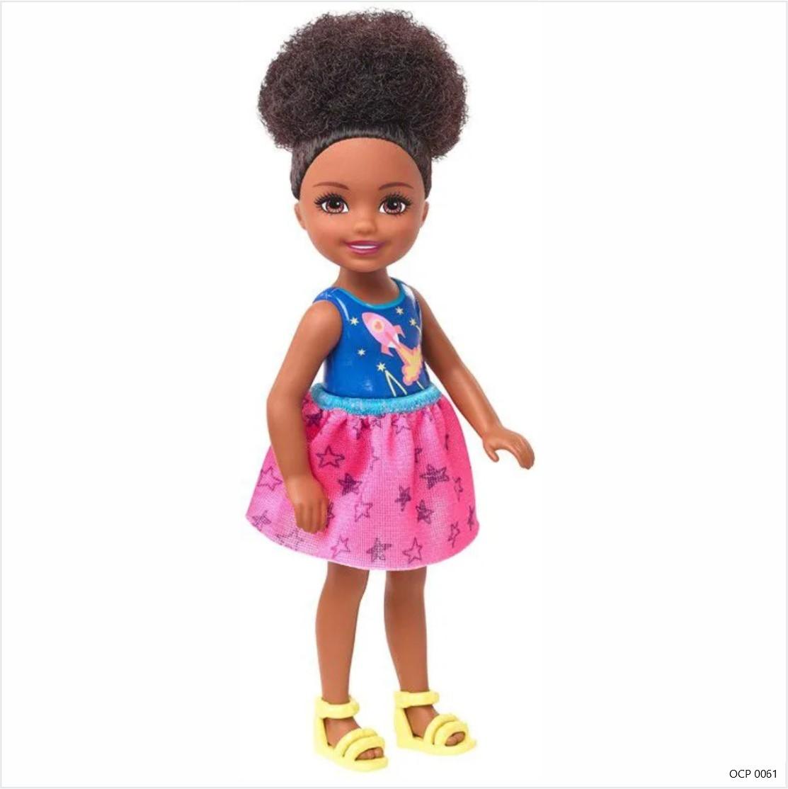 Boneca Barbie Club Chelsea Menina Foguete - Mattel