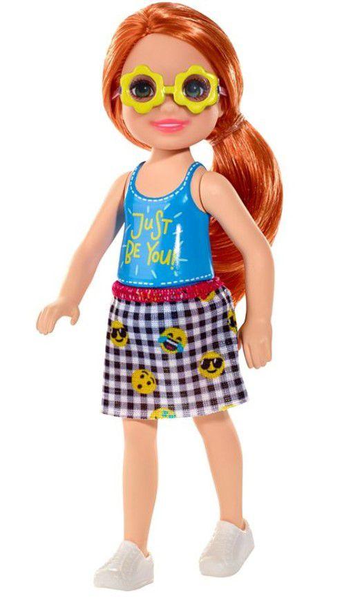 Boneca Barbie Club Chelsea Ruiva Apenas Seja Você