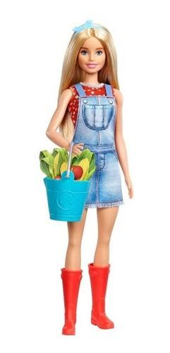 Boneca Barbie Doce Pomar da Fazenda - Balde Azul