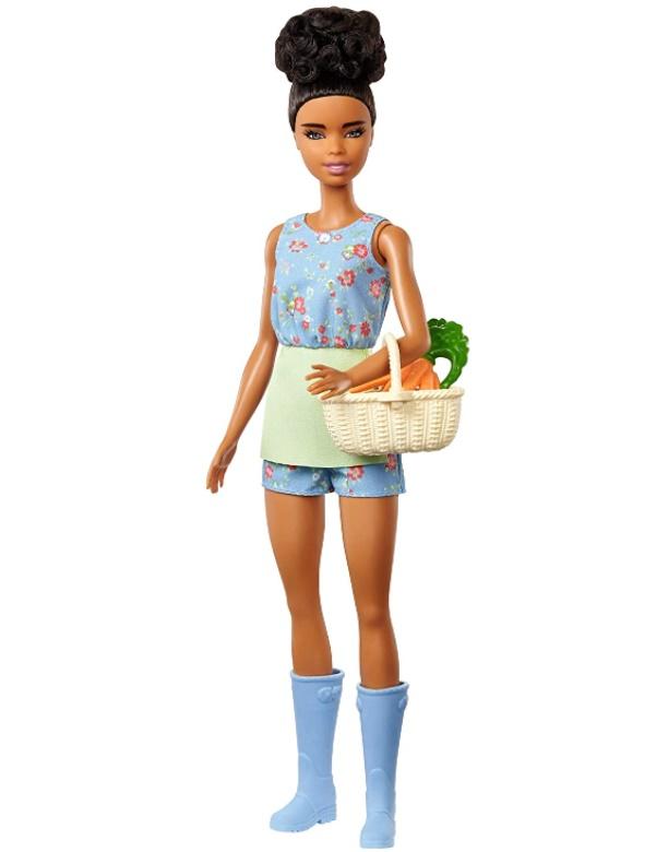 Boneca Barbie Doce Pomar da Fazenda - Cesto com Cenouras