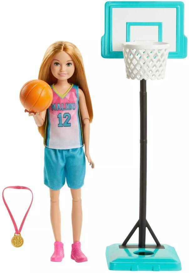 Boneca Barbie Dreamhouse Adventures Stacie Jogadora de Basquete