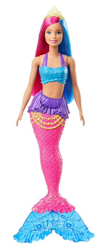 Boneca Barbie Dreamtopia Sereia Fantasia Pink