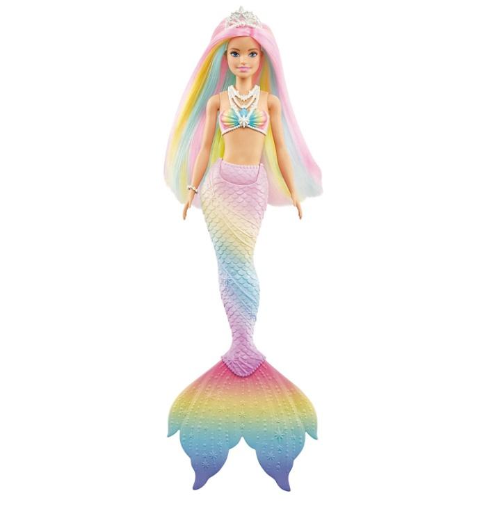 Boneca Barbie Dreamtopia Sereia Mágica Arco-Íris