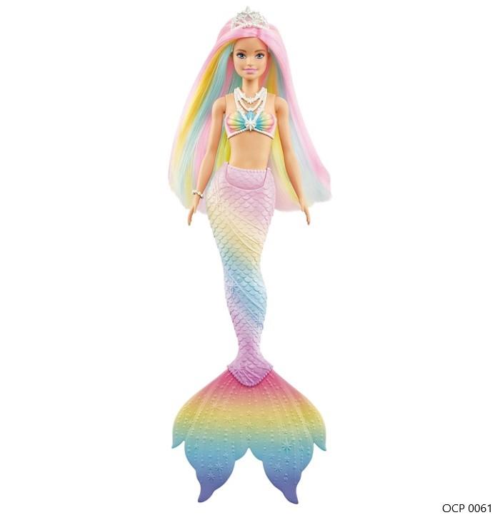 Boneca Barbie Dreamtopia Sereia Mágica Arco-Íris - Mattel