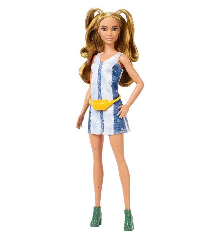 Boneca Barbie Fashionistas - 108 Vestido Jeans
