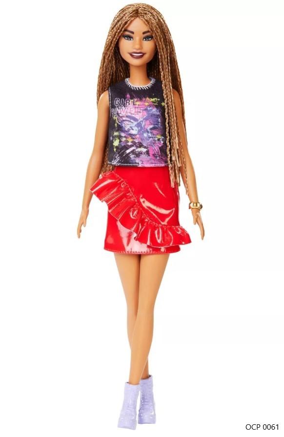 Boneca Barbie Fashionistas 123 T-Shirt Power Girl - Mattel