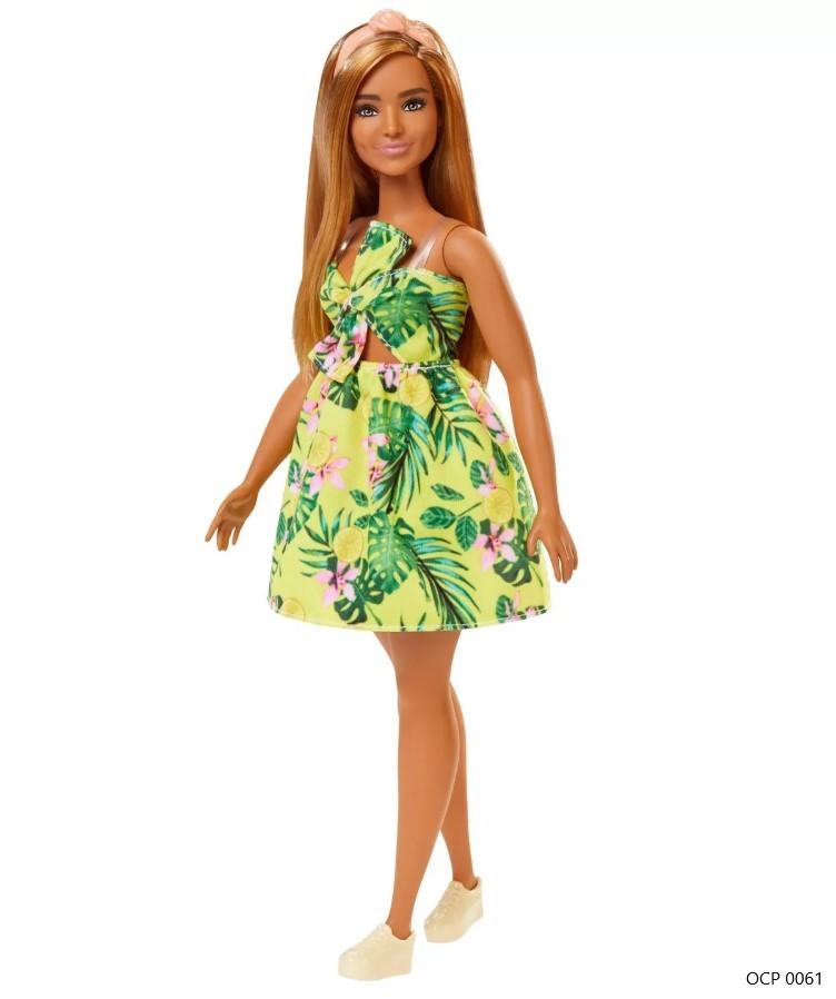 Boneca Barbie Fashionistas 126 Vestido Selva - Mattel