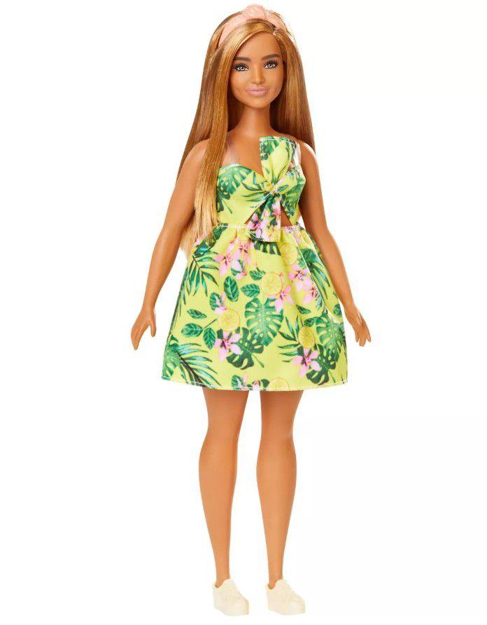 Boneca Barbie Fashionistas  # 126 Vestido Selva