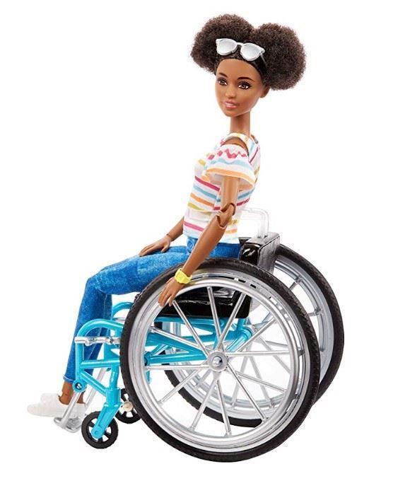Boneca Barbie Fashionistas - 133 Cadeirante Morena