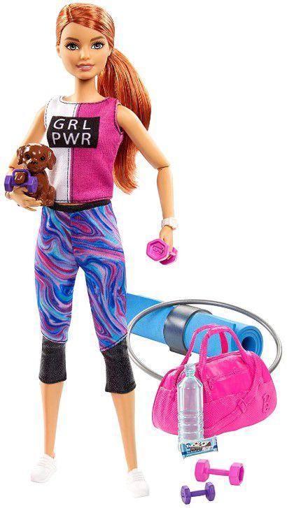Boneca Barbie Fashionistas Fitness Ruiva