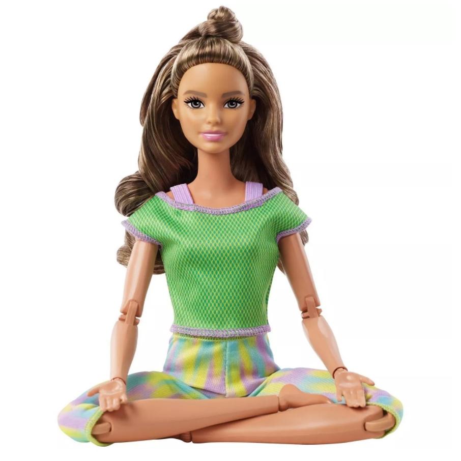 Boneca Barbie Feita para Mexer Morena - To Move Articulada