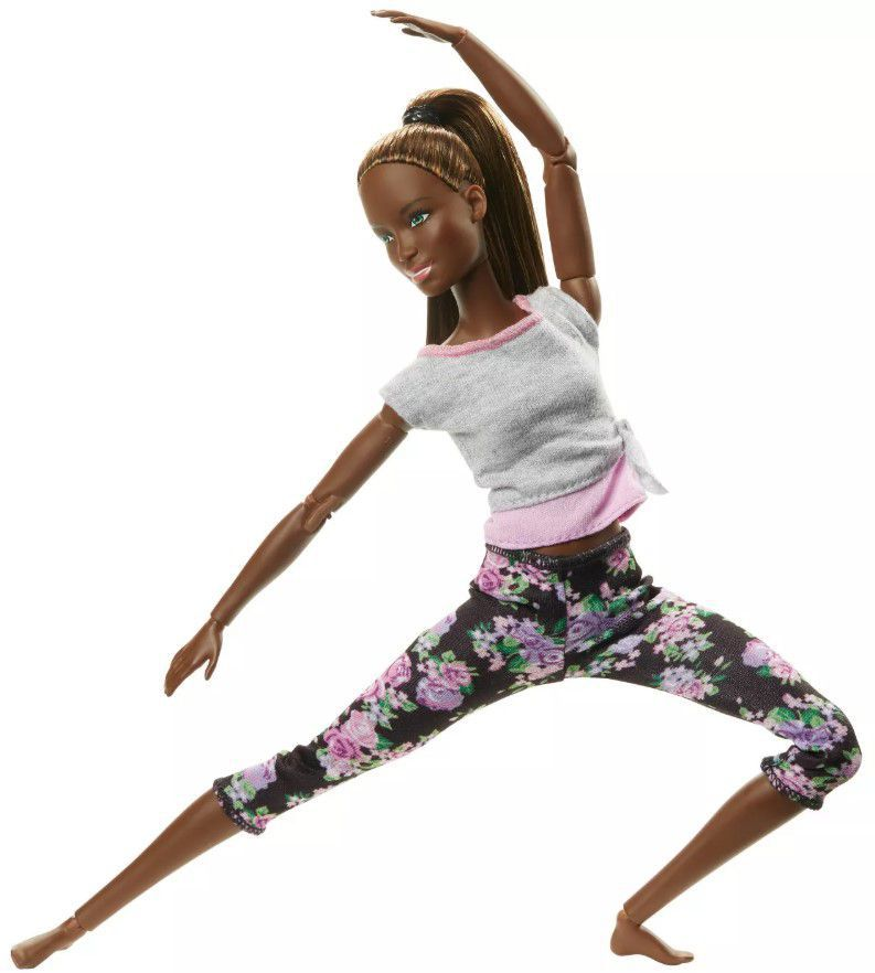 Boneca Barbie Feita para Mexer Yoga Nikki
