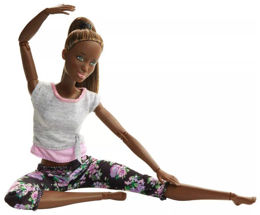 Boneca Barbie Feita para Mexer Yoga Nikki - To Move Articulada