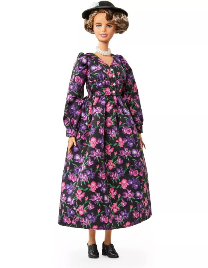 Boneca Barbie Mulheres Inspiradoras - Eleanor Roosevelt