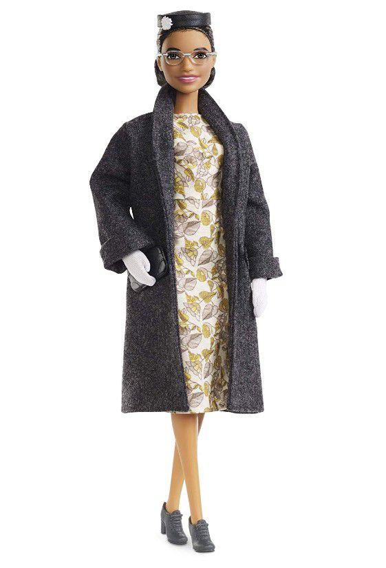 Boneca Barbie Série Mulheres Inspiradoras - Rosa Parks