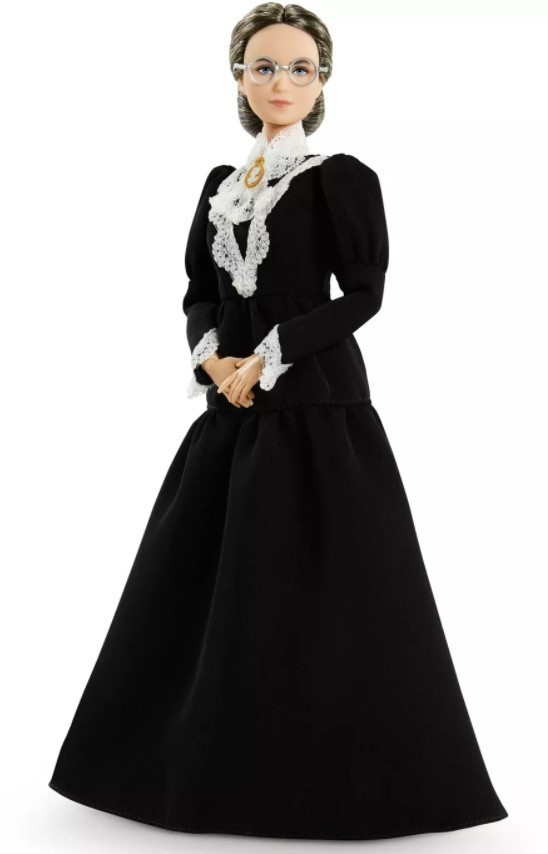 Boneca Barbie Série Mulheres Inspiradoras - Susan B. Anthony
