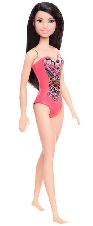 Boneca Barbie Praia Raquelle Maiô Coral