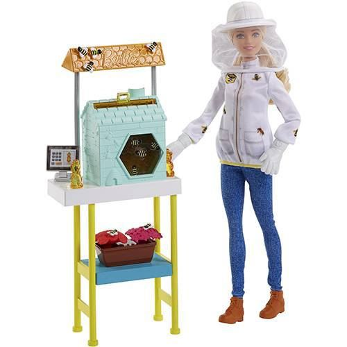 Boneca Barbie Profissões - Apicultora e Playset