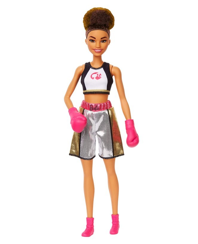 Boneca Barbie Profissões - Boxeadora