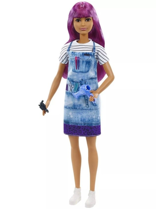 Boneca Barbie Profissões Cabeleireira
