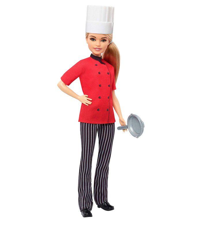 Boneca Barbie Profissões - Chefe Gastronômica