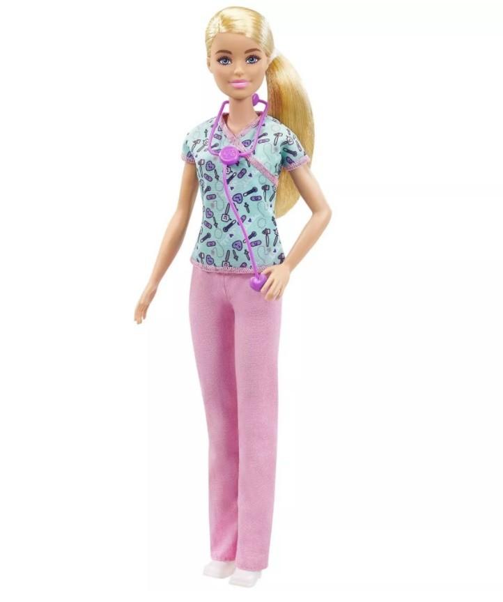Boneca Barbie Profissões Enfermeira