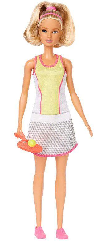 Boneca Barbie Profissões  - Jogadora de Tênis Loira