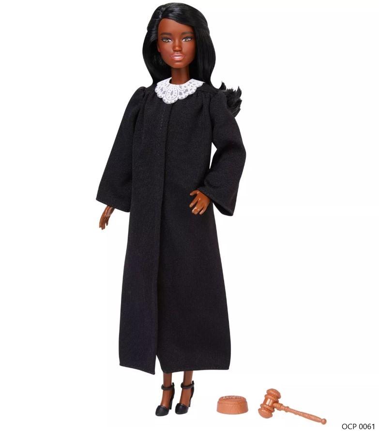Boneca Barbie Profissões  Juíza Cabelo Castanho Escuro - Mattel