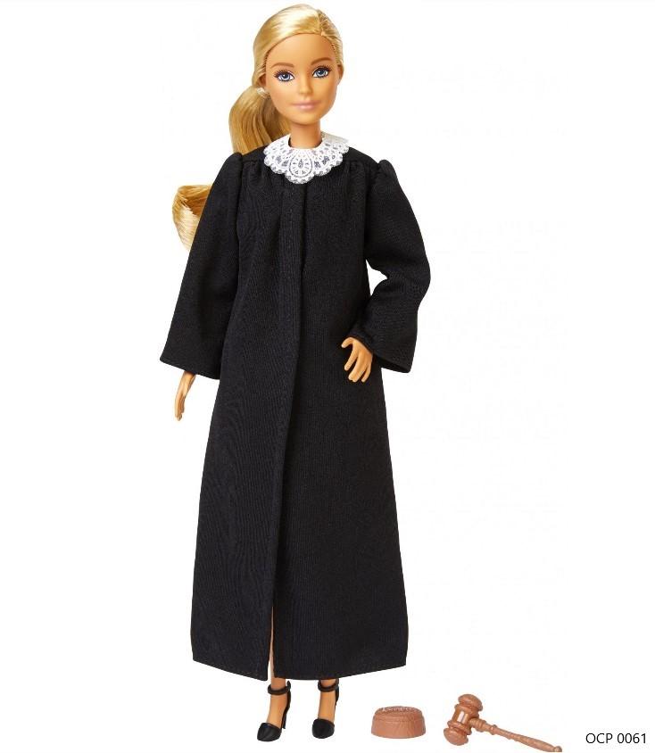 Boneca Barbie Profissões  Juíza Cabelo Loiro - Mattel