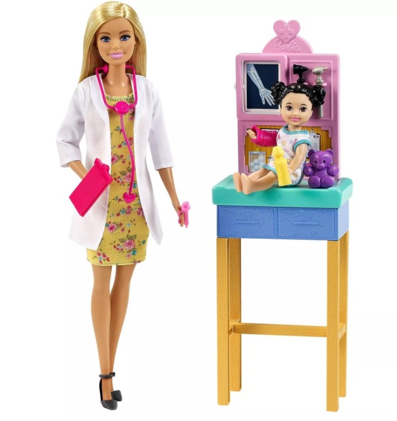 Boneca Barbie Profissões Pediatra
